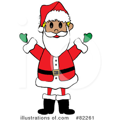 Santa Clipart #82261 by Pams Clipart