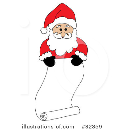 Santa Clipart #82359 by Pams Clipart