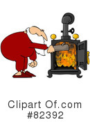 Royalty-Free (RF) Santa Clipart Illustration #82392