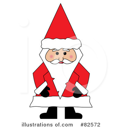 Santa Clipart #82572 by Pams Clipart