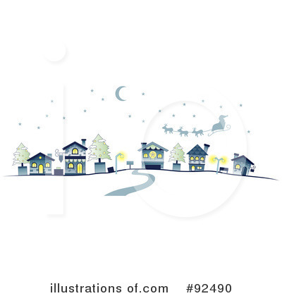 Village Clipart #92490 by BNP Design Studio