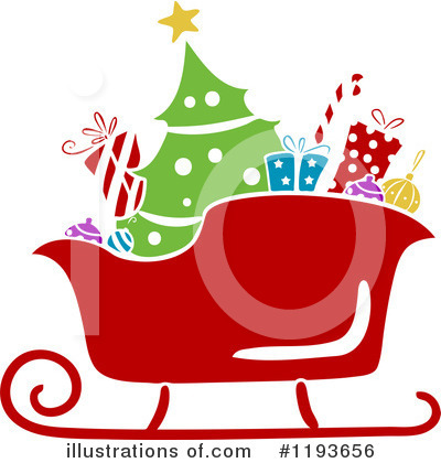 Christmas Tree Clipart #1193656 by BNP Design Studio