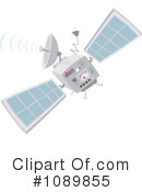 Royalty-Free (RF) Satellite Clipart Illustration #1089855