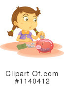 Royalty-Free (RF) Savings Clipart Illustration #1140412