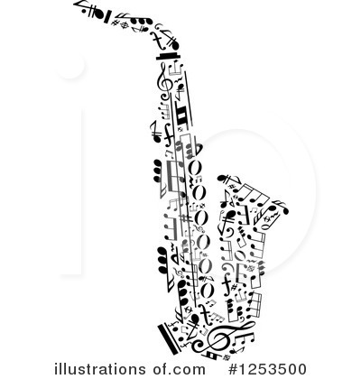Music Clipart #1253500 by Vector Tradition SM