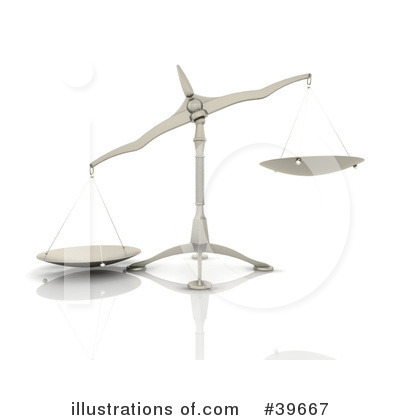Royalty-Free (RF) Scale Clipart Illustration by KJ Pargeter - Stock Sample #39667