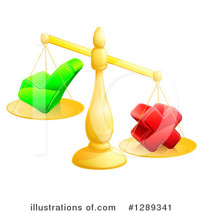 Justice Clipart #1289341 by AtStockIllustration