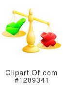 Royalty-Free (RF) Scales Clipart Illustration #1289341