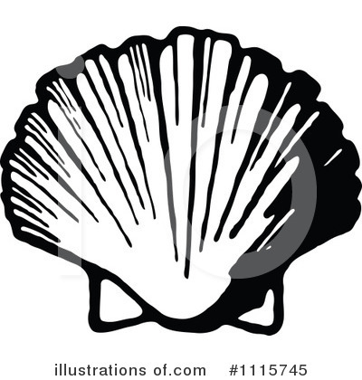 Sea Shell Clipart #1115745 by Prawny Vintage