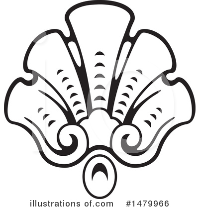 Royalty-Free (RF) Scallop Clipart Illustration by Frisko - Stock Sample #1479966