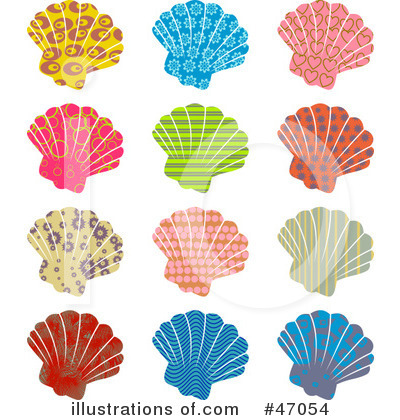 Scallop Clipart #47054 by Prawny