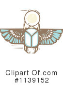 Royalty-Free (RF) scarab Clipart Illustration #1139152