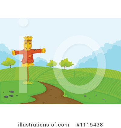 Scarecrow Clipart #1115438 by Graphics RF