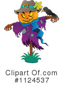 Royalty-Free (RF) scarecrow Clipart Illustration #1124537