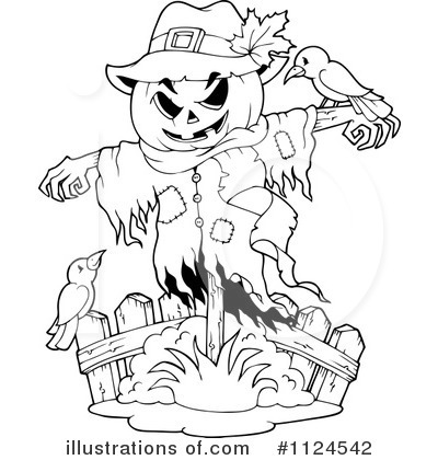 Scarecrow Clipart #1124542 by visekart