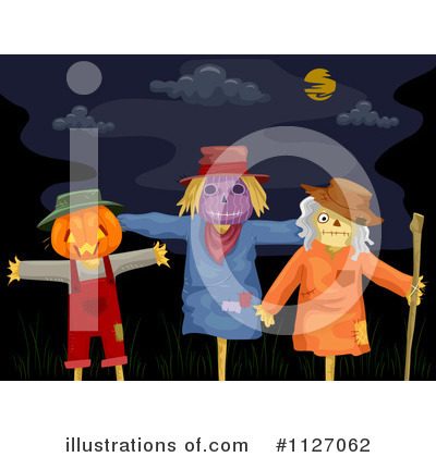 Scarecrow Clipart #1127062 by BNP Design Studio