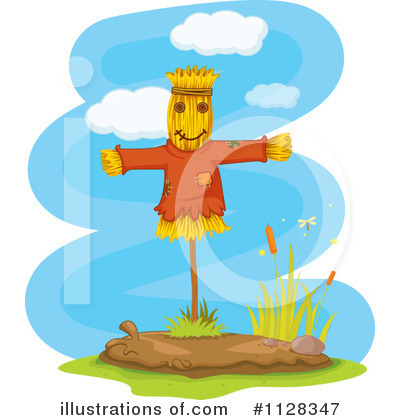 Scarecrow Clipart #1128347 by Graphics RF