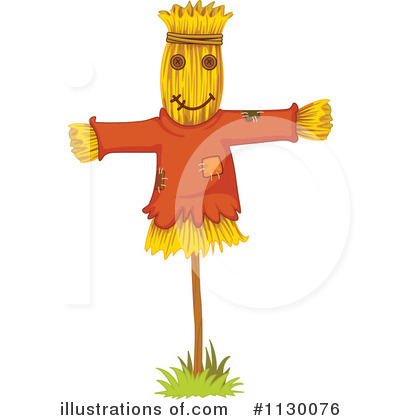 Scarecrow Clipart #1130076 by Graphics RF