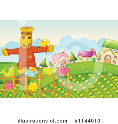 Scarecrow Clipart #1144013 by Graphics RF