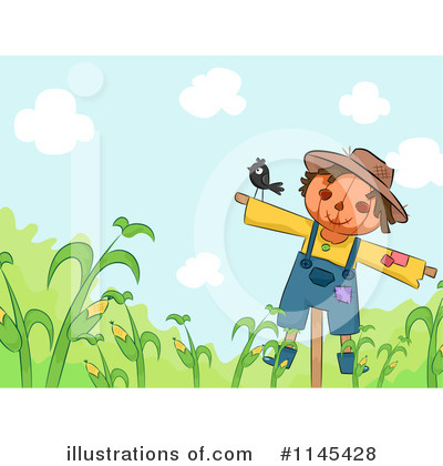 Scarecrow Clipart #1145428 by BNP Design Studio