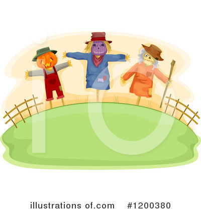 Scarecrow Clipart #1200380 by BNP Design Studio