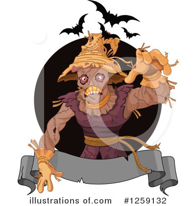 Scarecrow Clipart #1259132 by Pushkin