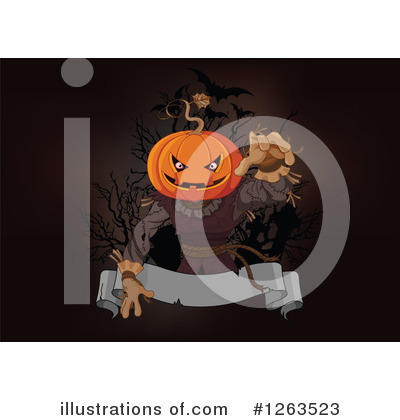 Scarecrow Clipart #1263523 by Pushkin