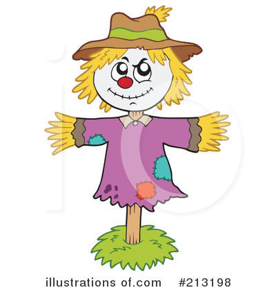 Scarecrow Clipart #213198 by visekart