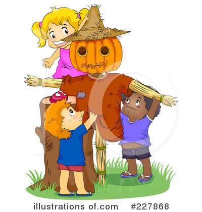 Scarecrow Clipart #227868 by BNP Design Studio