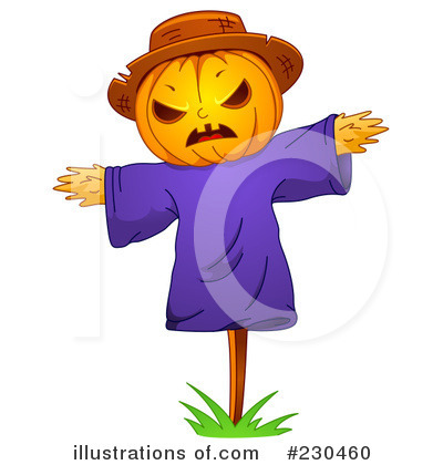 Scarecrow Clipart #230460 by BNP Design Studio