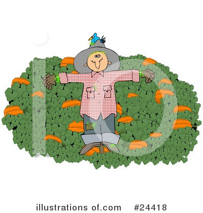 Scarecrow Clipart #24418 by djart