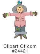 Scarecrow Clipart #24421 by djart