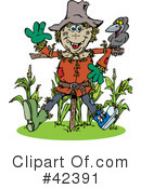 Scarecrow Clipart #42391 by Dennis Holmes Designs
