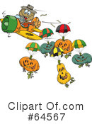 Scarecrow Clipart #64567 by Dennis Holmes Designs