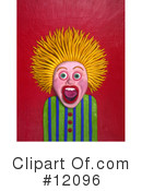 Royalty-Free (RF) Scared Clipart Illustration #12096