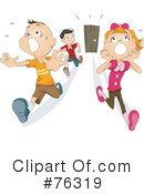 Royalty-Free (RF) Scared Clipart Illustration #76319