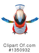Scarlet Macaw Clipart #1350932 by Julos