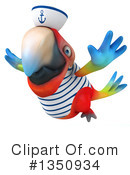 Scarlet Macaw Clipart #1350934 by Julos