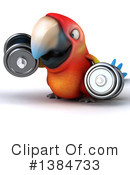 Scarlet Macaw Clipart #1384733 by Julos