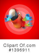 Scarlet Macaw Clipart #1396911 by Julos