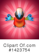 Scarlet Macaw Clipart #1423754 by Julos