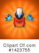 Scarlet Macaw Clipart #1423755 by Julos