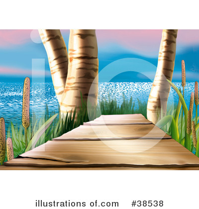 Cattail Clipart #38538 by dero