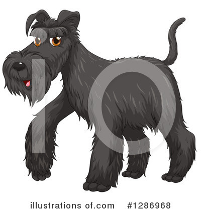 Schnauzer Clipart #1286968 by Graphics RF