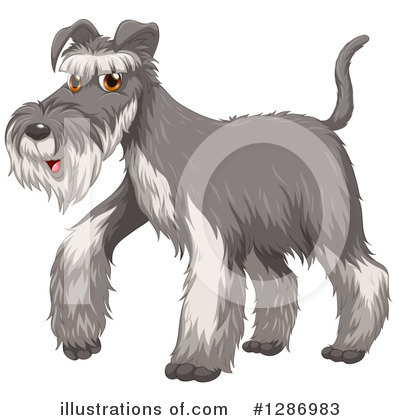 Schnauzer Clipart #1286983 by Graphics RF