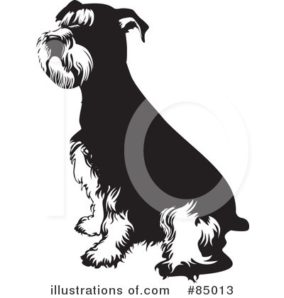 Schnauzer Clipart #85013 by David Rey