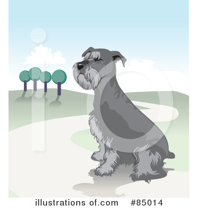 Schnauzer Clipart #85014 by David Rey