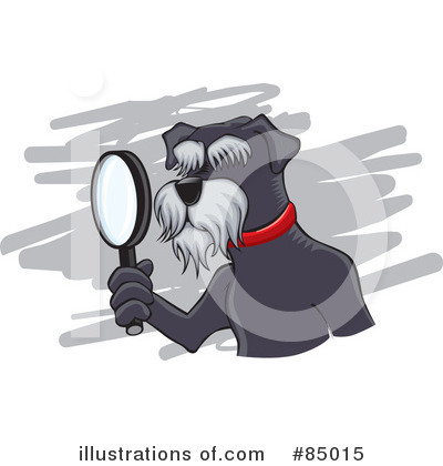 Royalty-Free (RF) Schnauzer Clipart Illustration by David Rey - Stock Sample #85015
