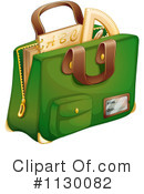Royalty-Free (RF) School Bag Clipart Illustration #1130082