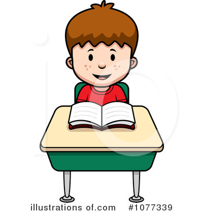 Student Clipart #1077339 by Cory Thoman